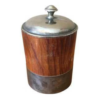 Vintage Metal and Wood Humidor
