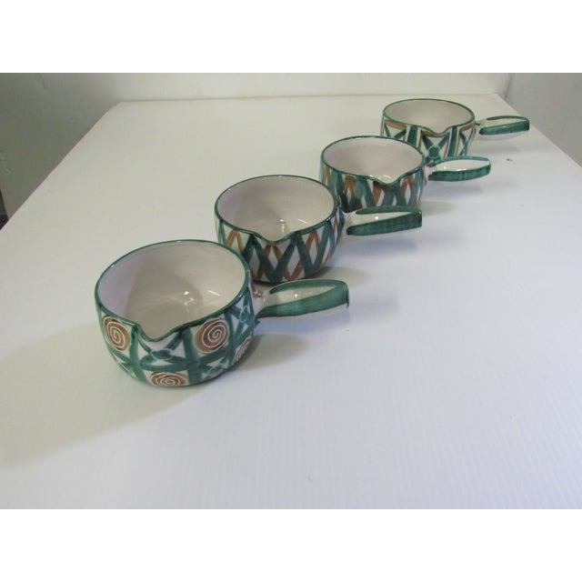 Image of Mid-Century French Modernist Caquelons - Set of 4