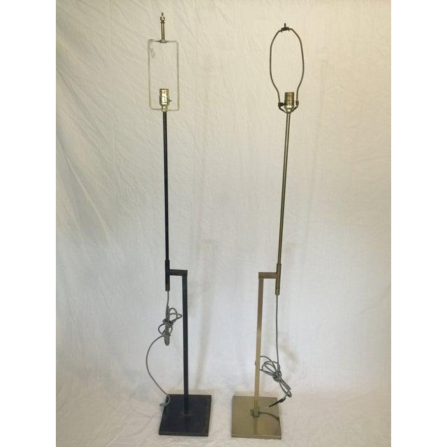 Vintage Laurel Adjustable Floor Lamps - A Pair - Image 10 of 11