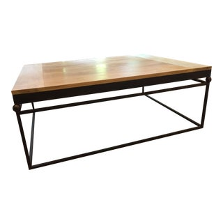 Custom Iron & Wood Coffee Table