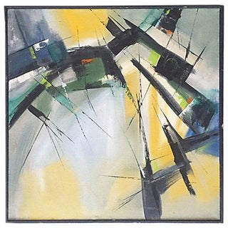 Kenneth Seege Mid-Century Abstract Painting
