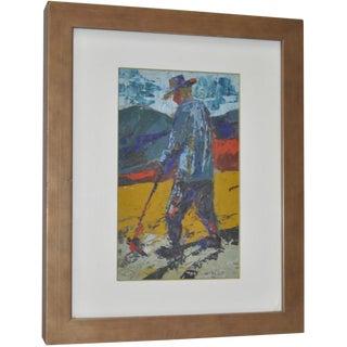 Man in Fields by Werner Philipp