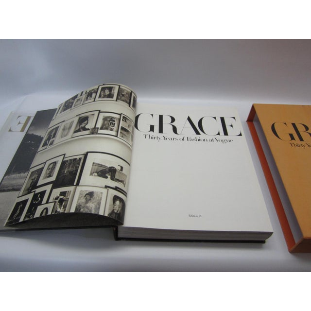 Grace, Thirty Years of Fashion at Vogue, First Edition Book in Original Box Grace Coddington - Image 3 of 9