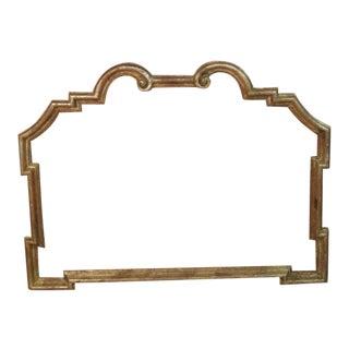 Vintage, Antique Hand Carved Wooden Mirror Frame
