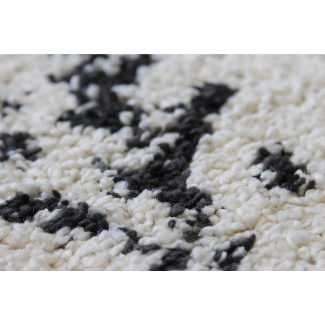Contemporary Plush Rug with Moroccan Design - 8' x 11' - Image 7 of 9
