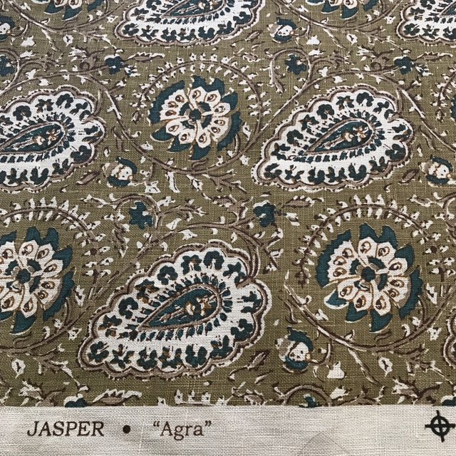 "Jasper ""Agra"" Fabric- 1 1/4 Yards - Image 2 of 6"
