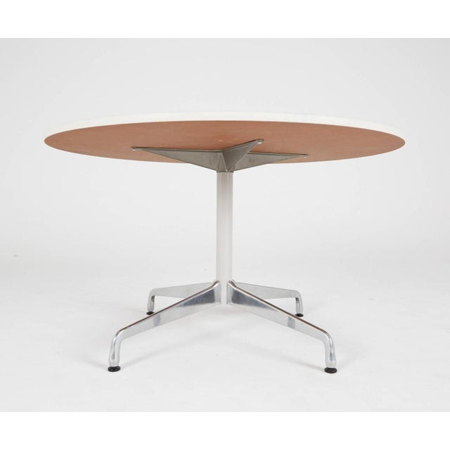 Eames Herman Miller Round Dining Table - Image 5 of 5