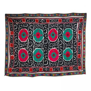 Vintage Suzani with Bright Colors