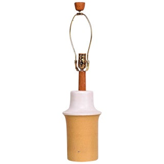 Mid Century Modern Gordon Martz Ceramic Table Lamp