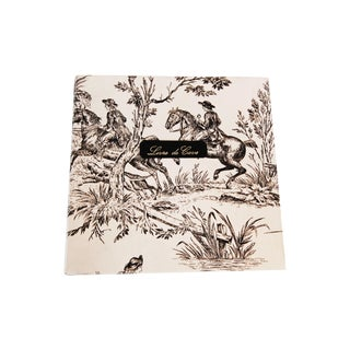 French Wine Cellars Toile Notebook