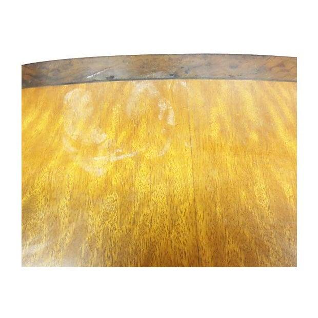Inlaid Henredon Mahogany Side Tables - Pair - Image 5 of 8