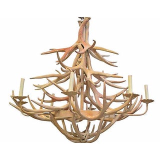 8-Arm Antler Chandelier