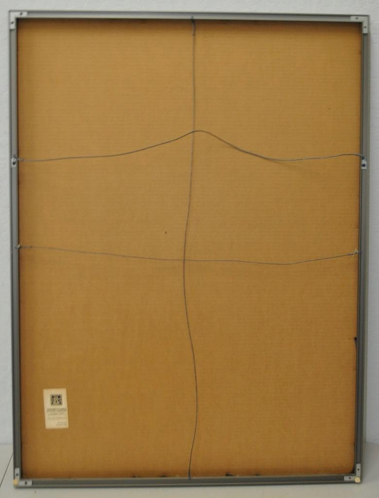 Perfect 1970s Abstract Painting By San Francisco Artist Phyllis Cimenti.   Image 7  Of 7