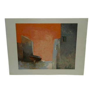 "Claude Gaveau ""Red Sky"" Limited Edition Print"