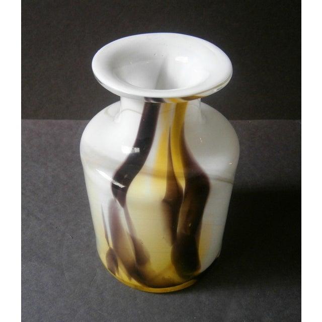 Holmegaard Cascade Cased Glass Vase by Per Lutken - Image 3 of 5