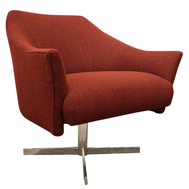 Image of Nathan Anthony Imagin Swivel Arm Chair