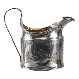 Peter & Ann Bateman George III London Sterling Silver Creamer, 1794