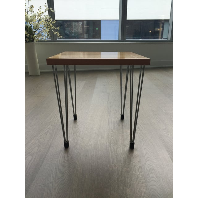 Image of Wooden Side Table