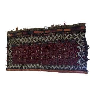 Wool Handwoven Tribal Saddlebag