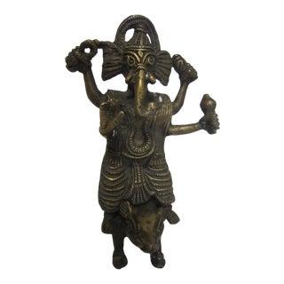 India Bronze Ganesh Figure