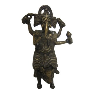 India Bronze Ganesh Figure