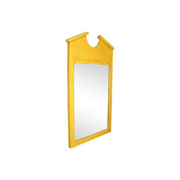 Image of Yellow Double Bonnet Mirror
