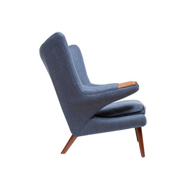 Pavel Wingback Armchair - Image 4 of 6