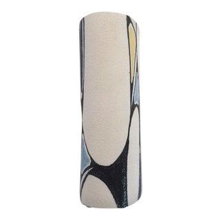 Mid-Century Tall Textured Abstract Vase