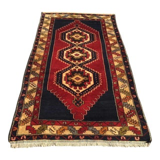 Vintage Anatolian Area Rug - 4′9″ × 9′4″