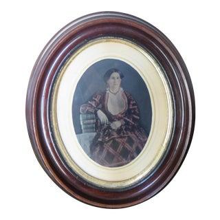 Antique Colored Photograph Portrait