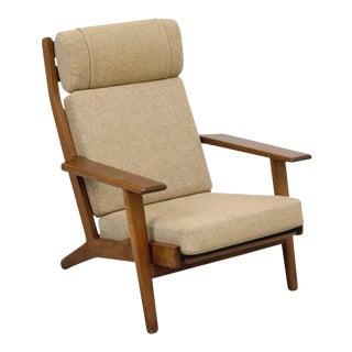 Hans Wegner GE290 High Back Lounge Chair
