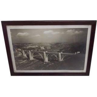 Westinghouse Bridge, Pittsburg Photography, 1930s