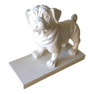 Shabby Chic Bulldog Doorstop or Bookend