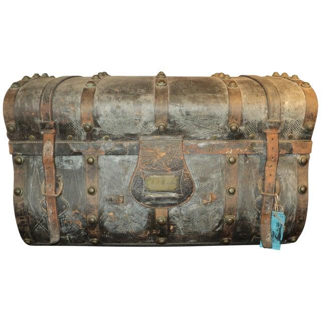 Antique Storage Trunk - Image 1 of 11