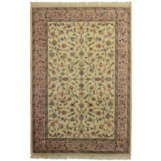 """RugsinDallas Hand Knotted Wool Rug - 6' X 8'9"""""""