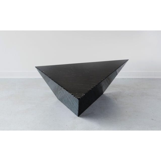 Geometric coffee table chairish for Geometric coffee table