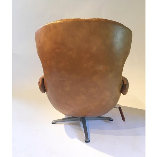 Mid Century Egg Form Chair By Overman Chairish