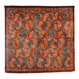 Art Deco Indian Carpet