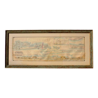1902 Fire Island & Oak Island, New York Map