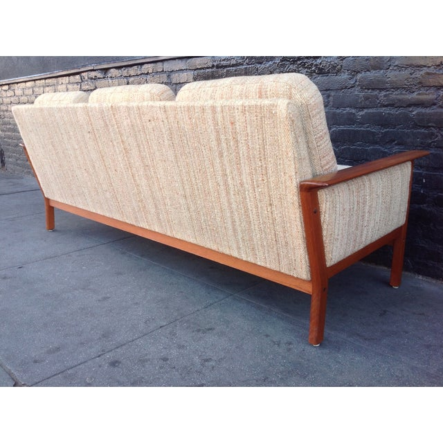Mid Century Danish Teak Sofa - Image 7 of 8
