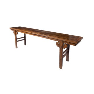 Long Chinese Altar Table