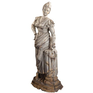 Life-Sized Garden Statue