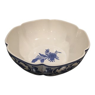 Tiffany and Co. Delft Serving Bowl