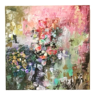 """Le Jardin"" Abstract Painting"