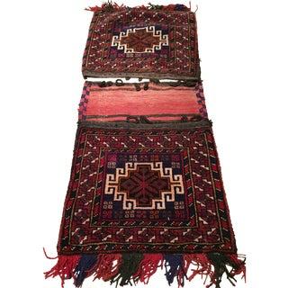 Persian Kilim Saddle Bag