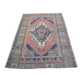 Nomadic Wool Floor Carpet - 4′5″ × 6′7″