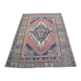 Nomadic Wool Floor Carpet - 4′5″ × 6′7″