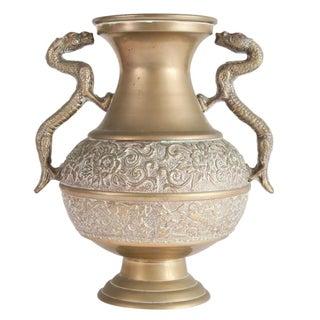 Carved Dragon Detailed Vase