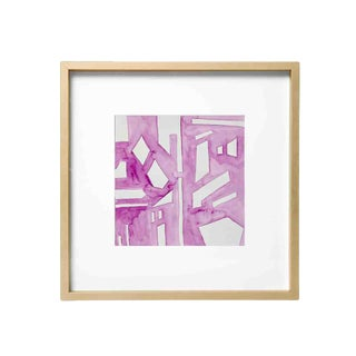 Emporium Home Abstract Lilac Watercolor