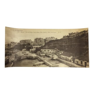 Antique Cote d'Argent Panoramic Photo